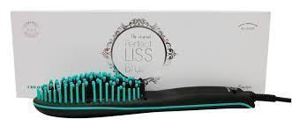 BY A.G.V - Cepillo alisador eléctrico Perfect Liss Brush NEGRO-TURQUESA -  Imagen 1 5ba694fc5f47