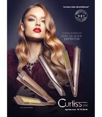 BY A.G.V - Plancha profesional Curliss Gold
