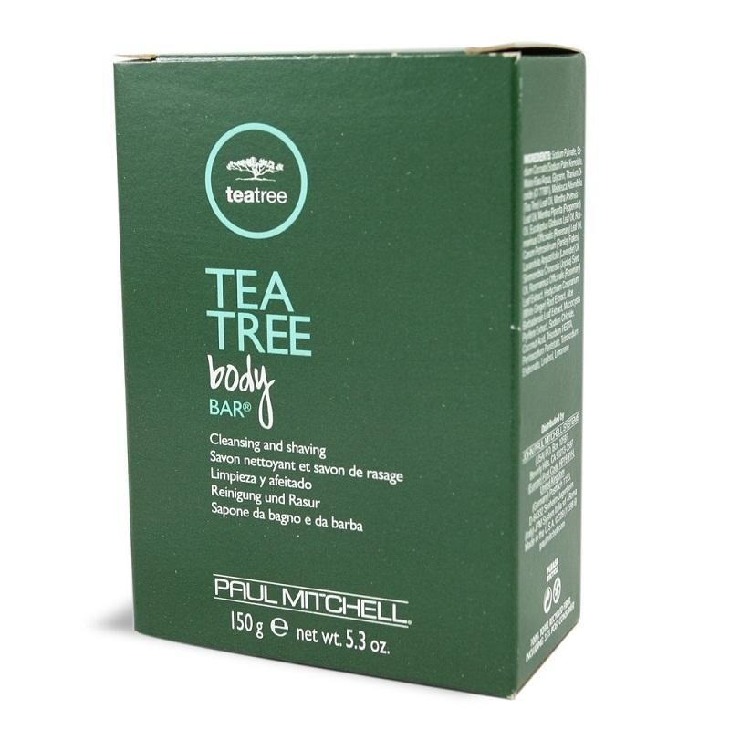 Paul Mitchel - Barra de jabon para todo tipo de pieles Tea Tree Body Bar 150 g - Imagen 1